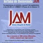 Tertulia de bienvenida JAM