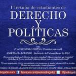 I Tertulia Estudiantes de Derecho y JAM