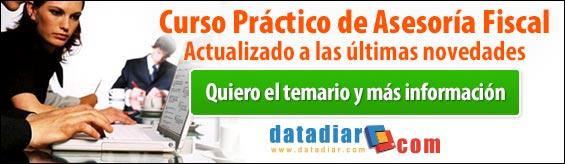 Curso Práctico de Asesoría Fiscal de Datadiar.com